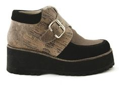 Mountain Deluxe platform boot by Mamut