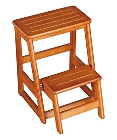 Loving This Oak Wooden Folding Step Stool On #zulily! #zulilyfinds