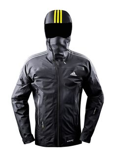 fiorenn:  Adidas Terrex Advanced Jacket with 3L Gore-Tex Pro and integrated Merino face mask