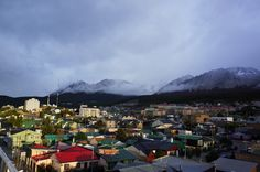 April sunshine over Ushuaia, the world most southern town - Argentina Argentina Travel, Ushuaia, Patagonia, Remote, Dolores Park, Sunshine, Southern, World, Amazing