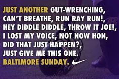 Another Baltimore Raven Sunday!!!