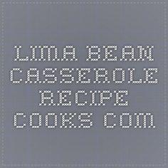 Pasta bean casserole recipes