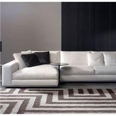 Hamilton Sectional Sofa Designed by Rodolfo Dordoni Manufactured by Minotti