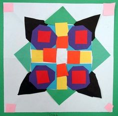 Artsonia Art Gallery - Radial Symmetry Designs