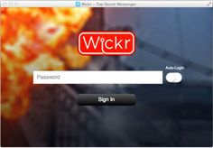 Self-destructing messaging app Wickr comes to Windows, Mac and Linux.