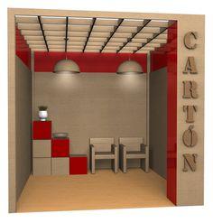 Diseño y maqueta stand ecologico