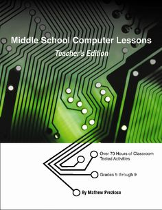 middle school computer lesson ideas