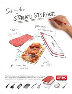 World Kitchen / Pyrex: Storage | Ads of the World™