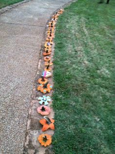 "DG sisters from the University of Alabama at Birmingham did a super cute Big/Little reveal this fall. The Bigs carved pumpkins for their littles with a unique ""top"" -- the pumpkins were in a field with the bigs nearby...find your pumpkin, find your big!"