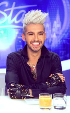 Bill Kaulitz from Tokio Hotel on DSDS #beautiful