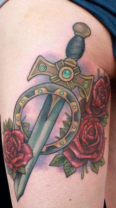 Absolutely GORGEOUS Xena tattoo!