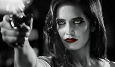 Eva Green in the upcoming Sin City 2: A Dame to Kill For