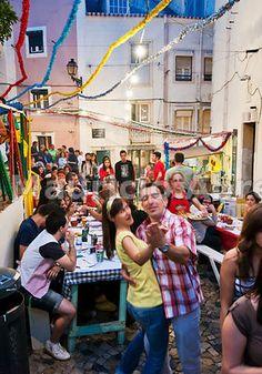 Saint Anthony festivity, Lisbon, Portugal