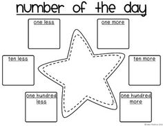 Number of the Day FREEBIE by KTP on TPT | Teachers Pay Teachers