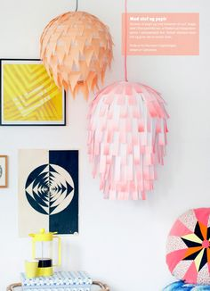 Spruce up your room with this easy and creative DIY paper lamps.