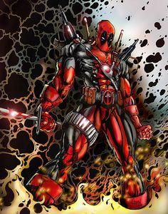 Deadpool   by AaronSumpter