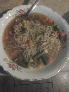 @Nasoya  vegetable noodle soup.   You can find more recipes at http://www.nasoya.com/recipes