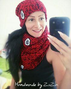 Crochet winter girl set
