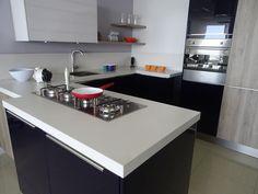 TRAZO & SPAZIO S.A. se especializa en el Diseño, Fabricación, Instalación y Comercialización de Cocinas Integrales Muebles de Carpintería Arquitectónica y Puertas de Paso, ofreciendo a nuestros clientes ideas innovadoras y funcionales que satisfacen sus necesidades, suministrando soluciones integrales en cada etapa del proyecto con calidad y un servicio oportuno. Ideas Innovadoras, Ideas Para, Kitchen Island, Home Decor, Woodworking Furniture, Innovative Products, Home, Island Kitchen, Decoration Home