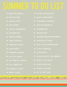 EDITABLE SUMMER TO-DO LIST!! - jennycollier.com - featured on the good life blog.jpg 700×906 pixels