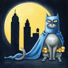 Na na na na na na na na ... Batcat!