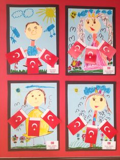 Yaşasın bayram Diy And Crafts, Crafts For Kids, Arts And Crafts, Classroom Projects, Ocean Art, Pre School, Art Education, Special Day, Art Lessons