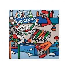 Boîte de petites sardines à l'huile d'olive, Edition Collector 140 ans Maison Arostéguy par l'artiste Hanna Pool Jones