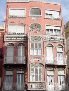 Cartagena - modernista building in Calle Mayor © Robert Bovington  http://bobbovington.blogspot.com.es/2011/11/cartagena.html