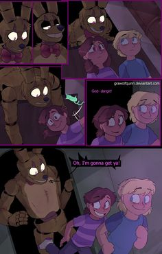 Springtrap and Deliah (Page 110) by GraWolfQuinn