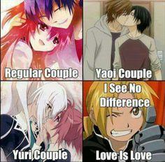 I agree completely. Love is love, no matter the gender you prefer.