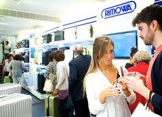 Rimowa+Seagram's Gin! Pilma Travel opening.