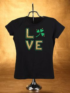 Love Shamrock Shirt