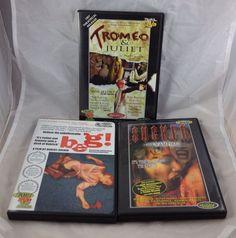 Troma DVD 3 Disc Lot Beg Tromeo Juliet Sucker Vampire Original Cult Films   eBay