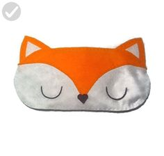Cute Felt Fox Sleep Mask - Fun stuff and gift ideas (*Amazon Partner-Link)