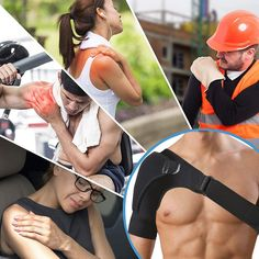 Adjustable Left/Right Shoulder Support Bandage Protector Brace Joint Pain Injury Shoulder Strap Tennis Sport Training Equipment Easy Yoga Poses, Yoga Poses For Beginners, Biceps, Shoulder Brace, Shoulder Strap, Cardio, Hip Opening Yoga, Yoga Sculpt, Butt Workout