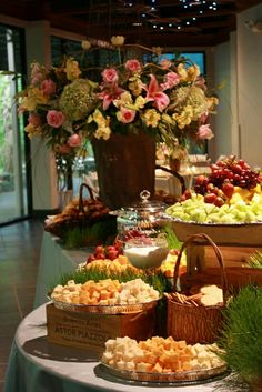 Wedding Food Stations Catering Fruit Displays Ideas For 2019 Wedding Food Stations, Wedding Reception Food, Wedding Catering, Wedding Ideas, Diy Wedding, Table Wedding, Trendy Wedding, Party Catering, Wedding Receptions
