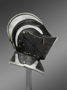 Armor for use on Foot, with Close Helmet for use in the Tourney Made in Nuremberg, Germany, Europe  c. 1575  Artist/maker unknown, German #history #armor #Germany