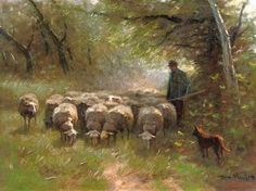 sheep Oil Painting, Francois Pieter ter Meulen Oil Paintings Grazing sheep oil painting reproduction by Francois Pieter ter Meulen - Grazing sheep oil painting reproduction by Francois Pieter ter Meulen - Oil Painting Texture, Oil Painting Abstract, Painting & Drawing, Painting Frames, Sheep Paintings, Animal Paintings, Oil Paintings, Oil Painting For Beginners, Painting Techniques