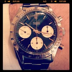 hodinkee: 1964 Rolex Daytona is #womw (temporarily)) (Taken with instagram)