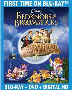 Bedknobs and Broomsticks [2 Discs] [Blu-ray/DVD] [1971]