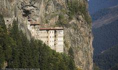 Sumela Monastery, #Turkey #travel