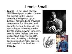 lennie small character traits