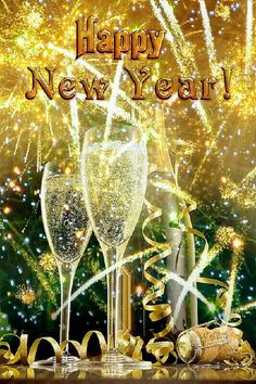 Happy New Year Fireworks And Champagne new year happy new year new year images new year quotes happy new year gifs Happy New Year Quotes, Happy New Year Images, Happy New Year Wishes, Happy New Year Greetings, Happy New Year 2018, Quotes About New Year, Merry Christmas And Happy New Year, Happy 2017, Happy New Year Funny
