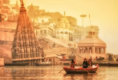 Popular on 500px : The leaning temple of Varanasi.. by SanhitaB