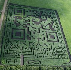 Check out the worlds largest QR code