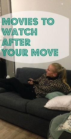 Kick back and relax after your move with a good movie | Moving Insider Tips