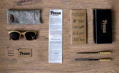 Uma marca de acessórios em madeira criativa e engajada, com processo de produção inovador e sustentável, apontava para um branding amigável. www.abio.cc e www.preza.me