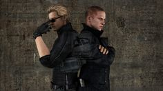 Jake Muller and Albert Wesker, Resident Evil