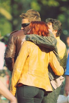 I want them to be together. It better happen.