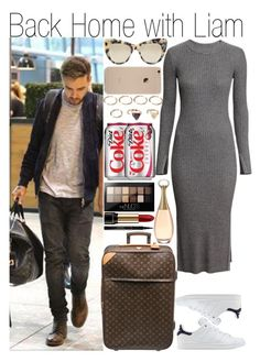 """""""Back Home with Liam"""" by praradise ❤ liked on Polyvore featuring H&M, adidas Originals, STELLA McCARTNEY, Louis Vuitton, Forever 21, Maybelline, Lancôme and Elizabeth Arden"""